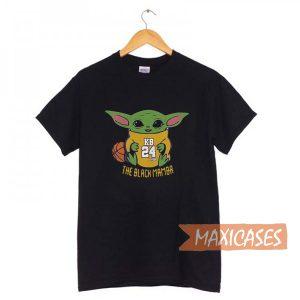 Baby Yoda Kobe Bryant T-shirt Men Women and Youth