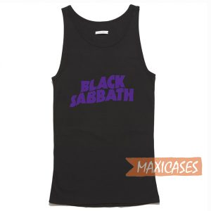 Black Sabbath Tank Top Men And Women