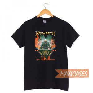 Megadeth New World Order T-shirt Men Women and Youth