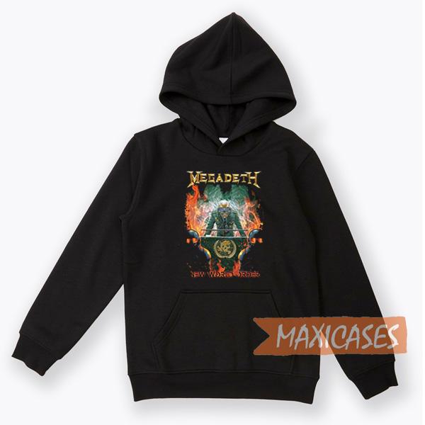 Megadeth New World Order Hoodie Unisex Adult