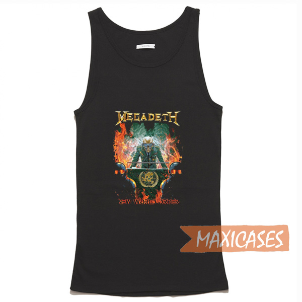 Megadeth New World Order Tank Top Men And Women