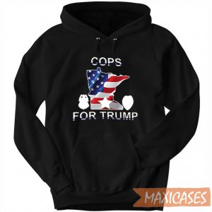 Cops For Trump – Minneapolis Mayor Hoodie Unisex Adult