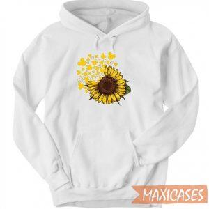 Mickey Head Sunflower Hoodie