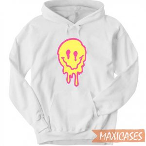 Drippy Smiley Face Hoodie