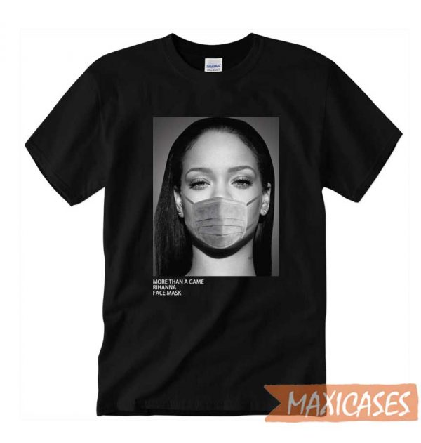 Rihanna Face Mask T-shirt