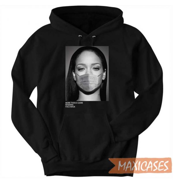Rihanna Face Mask Hoodie
