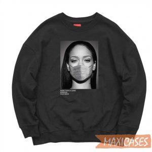 Rihanna Face Mask Sweatshirt