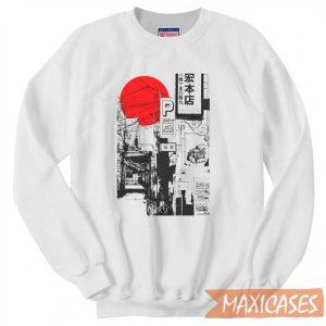 Tokyo Street Sunrise Sweatshirt