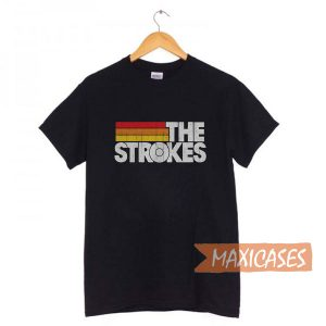Vintage The-Strokes T Shirt Women, Men and Youth