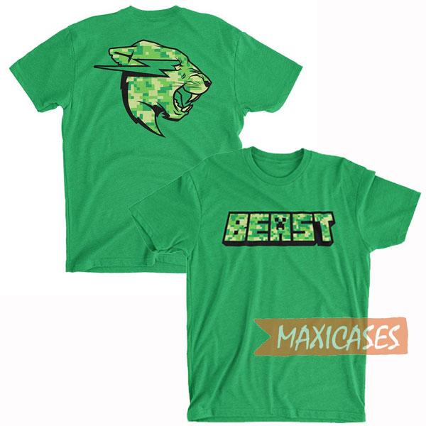 Minecraft MrBeast T Shirt